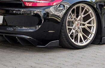 REAR SIDE SPLITTERS Porsche Cayman Mk2 981C
