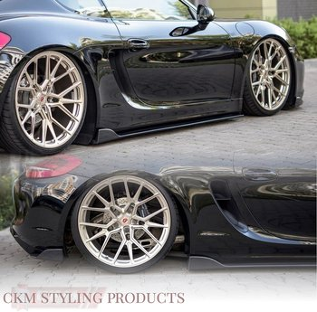 SIDE SKIRTS DIFFUSERS Porsche Cayman Mk2 981C