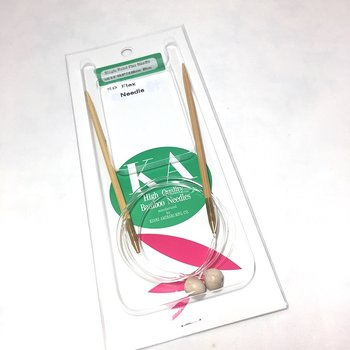 Bamboo Flexible knittingneedles  6  - 10 mm