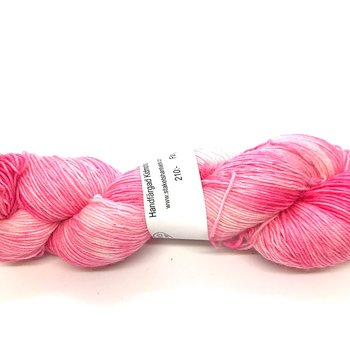 Handdyed Kid Mohair Sock Light Cerise