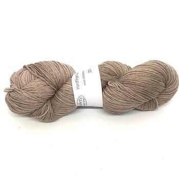 Handfärgad Stäket Sock ljusbrun