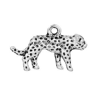Berlock -  Leopard Silver 3D