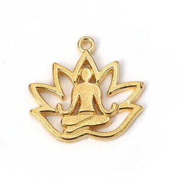 Berlock - Yoga guld