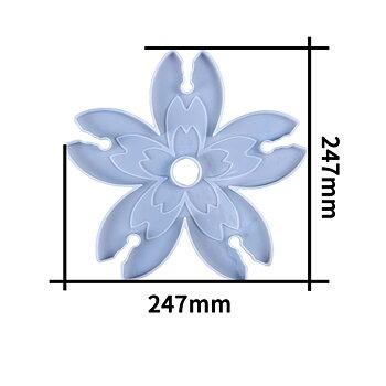 Gjutform  i silikon - Vin / glashållare  24cm