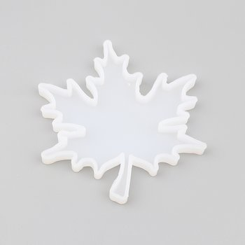 Silicone Resin Mold  Maple leaf 10cm
