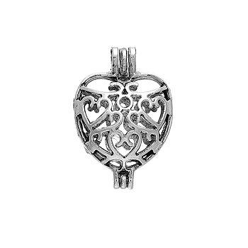 Berlock , Hjärta öppningsbar, önskeberlock