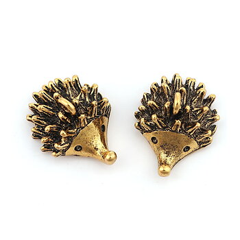 Charm  Hedgehog gold 24mm