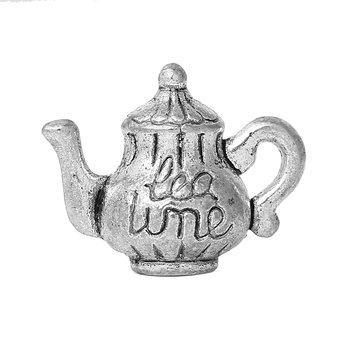 "Charm   Teapot ""Teatime"""