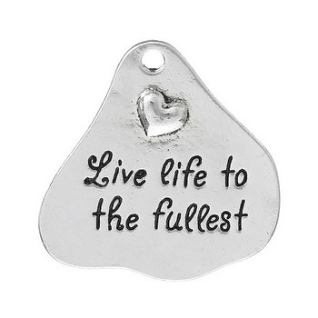"Charm   ""Live life to the fullest"""