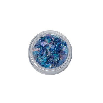 Resin craft glitter PVC,  teal