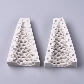 Silicone Resin Mold  Christmas tree 2 parts