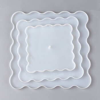 Silicone Resin Mold .  3 layar cake stand / tray