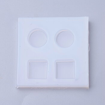 Silicone Resin Mold .  round & Square