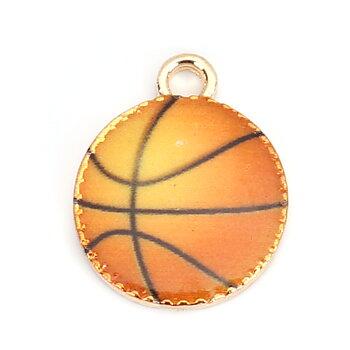 Berlock -  Emaljerad basketboll
