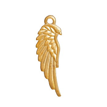 Charm   Angel wing gold