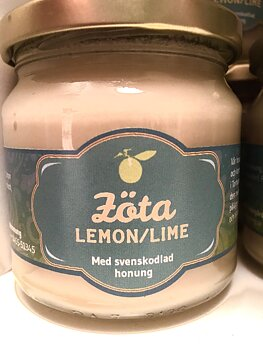 Honung - Zöta Lemon/Lime