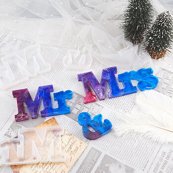 Silicone Resin Mold   Mr & Mrs