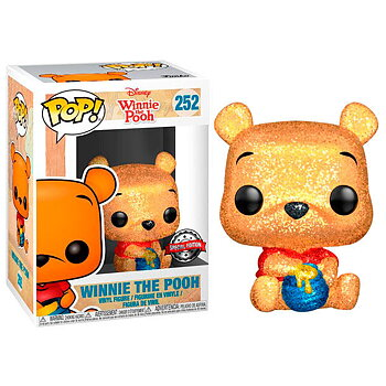 POP Figur Disney Winnie the Pooh Seated Pooh Glitter Exclusive