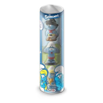 The Smurfs Mini Actionfigur 3-Pack Prescool 10 cm