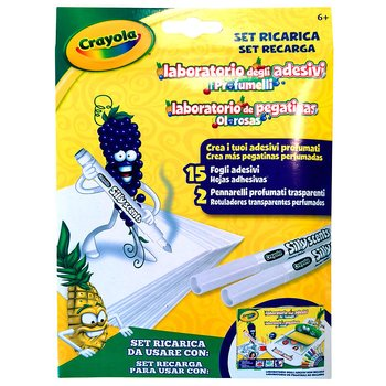 Crayola Recharge Set of Odorous Stickers Laboratory