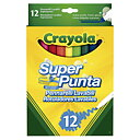 Crayola Set 12 Washable Super Line Markers