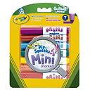 Crayola Set 7 Mini Washable Markers