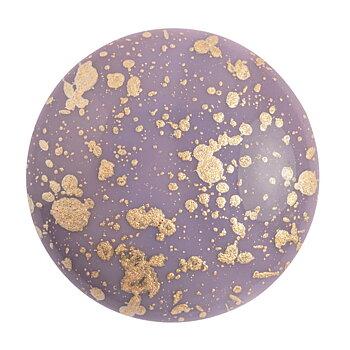 Cabochon par Puca® - Opaque Amethyst Splash 25 mm, 1 styck