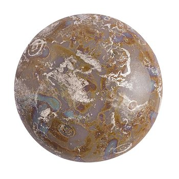 Cabochon par Puca® - Opaque Amethyst New Picasso 25 mm, 1 styck
