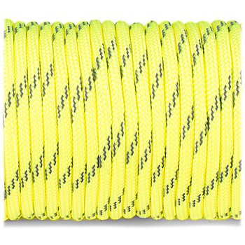 Paracord reflective, Sofit yellow #R319 - 10 Meter