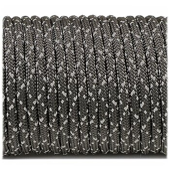 Paracord reflective starry night #R228 - 10 Meter