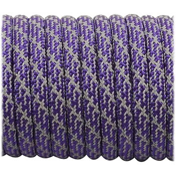 Super reflective paracord 50/50, Purple Matrix #026 - 10 Meter