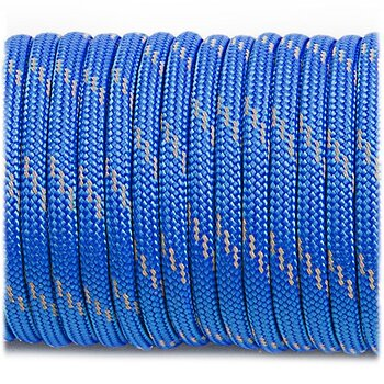 Paracord reflective, blue #R001 - 10 Meter
