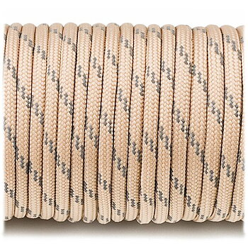 Paracord reflective, Tan #R068 - 10 Meter