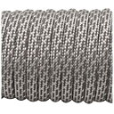 Super reflective paracord 50/50, Silver Matrix #002 - 10 Meter