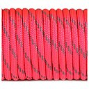 Paracord reflective, Sofit pink #R315 - 10 Meter