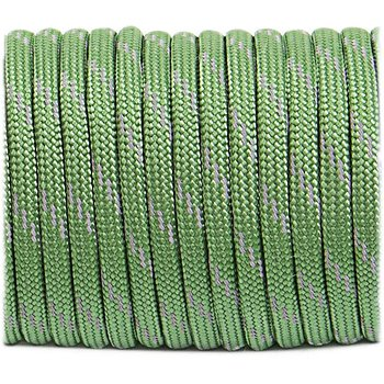 Paracord reflective, moss #R331 - 10 Meter