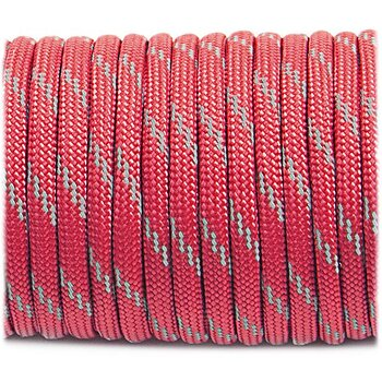 Paracord reflective, Light red #R324 - 10 Meter
