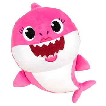 Baby Shark Mommy Shark Gosedjur med Ljud 17cm