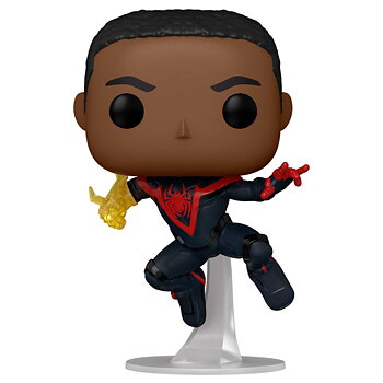 POP Figur Spiderman Miles Morales Classic Suit Chase