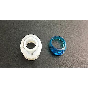 Silkonform - Finger-ring droppe strl 7, 1 form