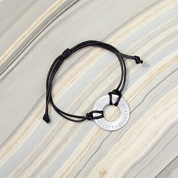 ImpressArt Armband - Tagg och Nylontråd (2-pack)