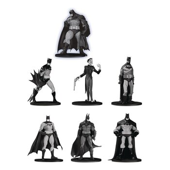 Batman Black & White PVC MiniFigur 7-Pack Box Set #3 10 cm
