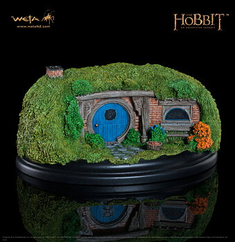 The Hobbit An Unexpected Journey Staty 26 Gandalf´s Cutting 6 cm