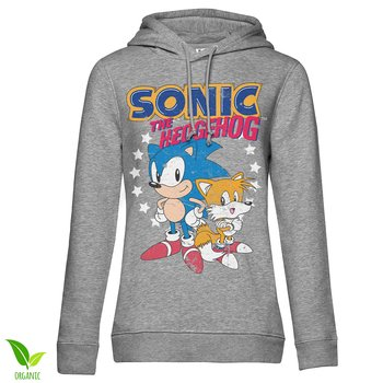 Sonic The Hedgehog - Sonic & Tails Girls Hoodie
