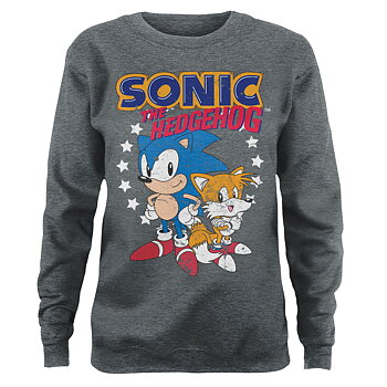 Sonic The Hedgehog - Sonic & Tails Girly Sweatshirt
