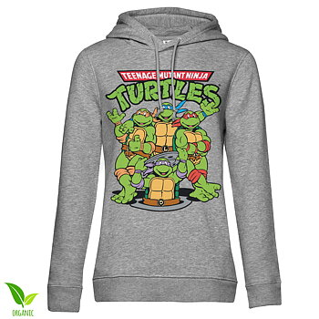 Teenage Mutant Ninja Turtles Group Girls Hoodie