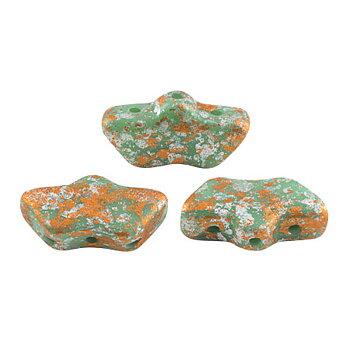 Delos® par Puca® - Opaque Green Turquoise Tweedy 10 gram