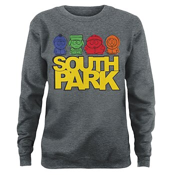 South Park Sketched Girly Sweatshirt