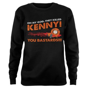 South Park - The Killed Kenny Girly Sweatshirt