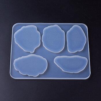 Silkonform - Glasunderlägg oregelbunden 1 form